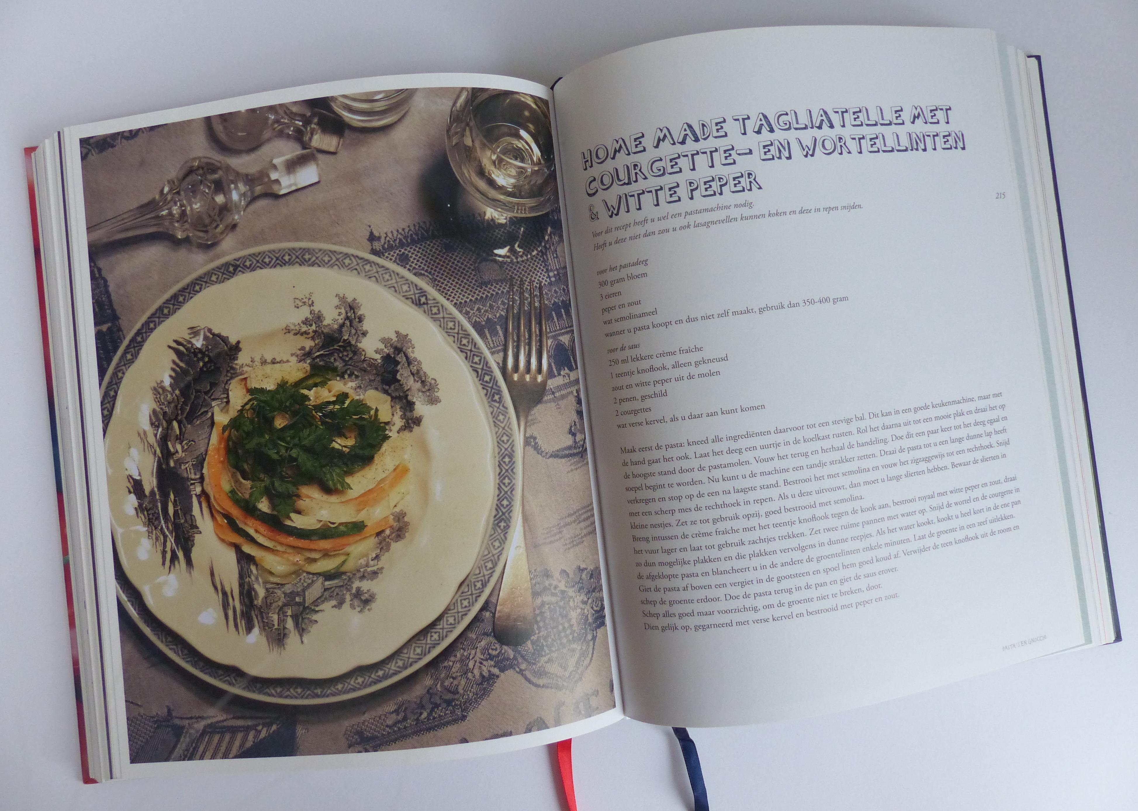 koken met van boven boek