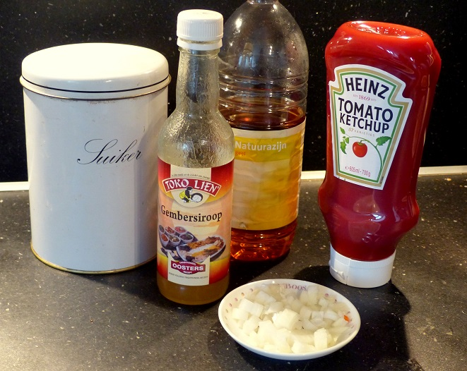 Recept foe yong hai saus