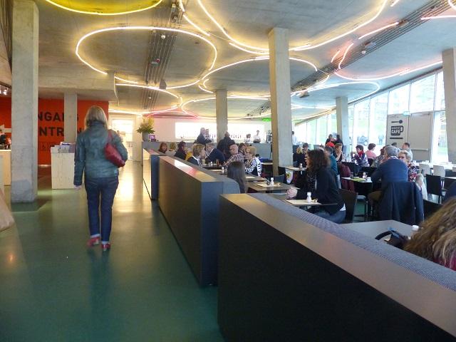restaurantje kunsthal