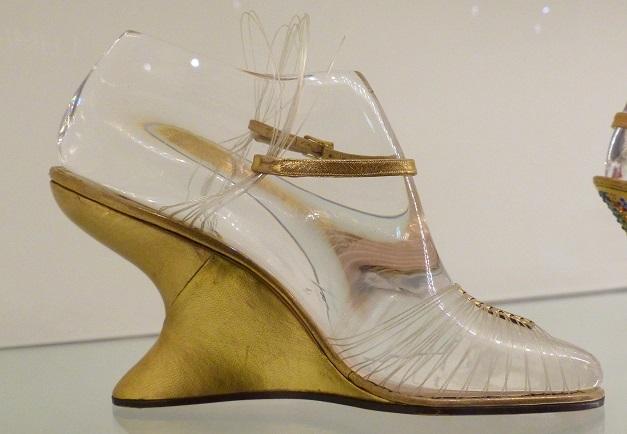 transparante schoenen