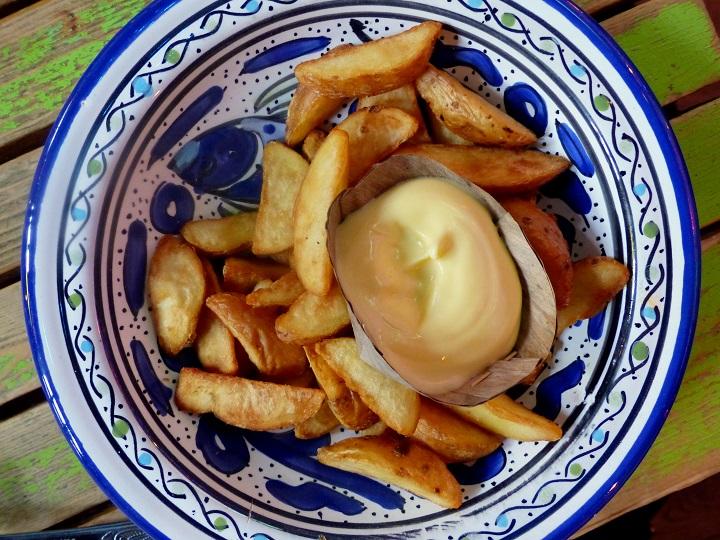 handgemaakte friet