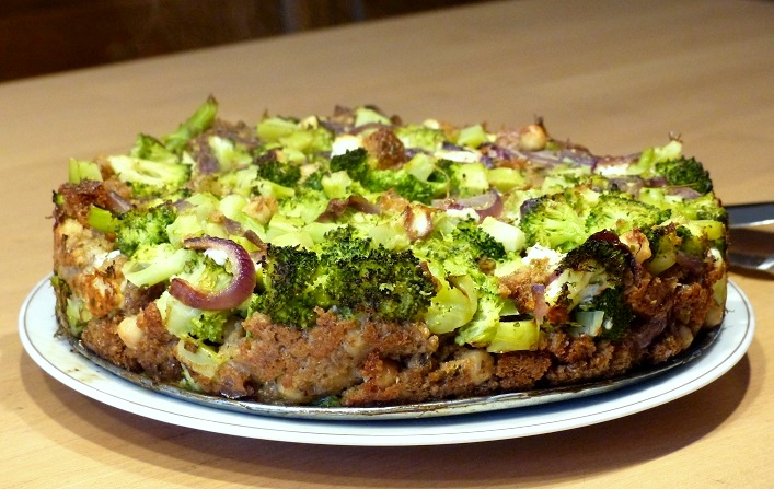 recept geitenkaas broccoli quiche