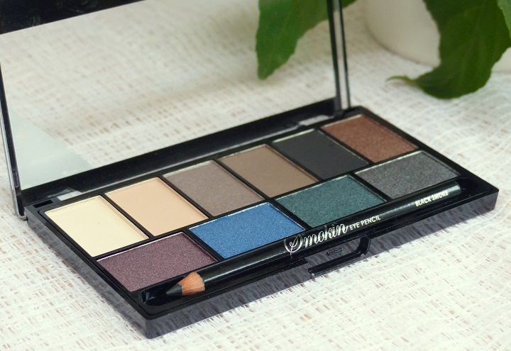 Review MUA eyeshadow palette swatch