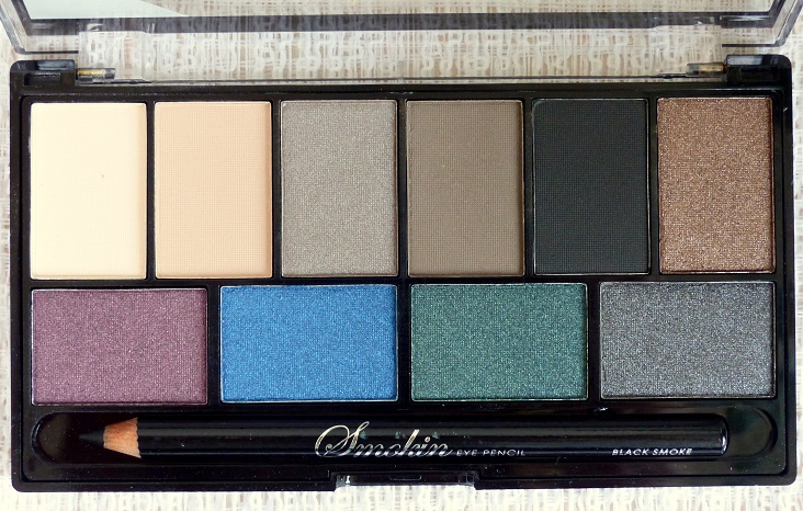 Review MUA smokin eyeshadow palette