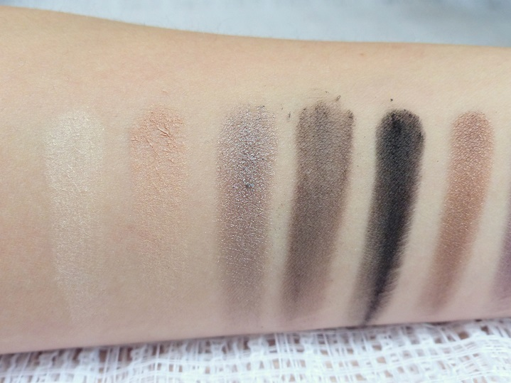 mua eyeshadow palette smokin swatches