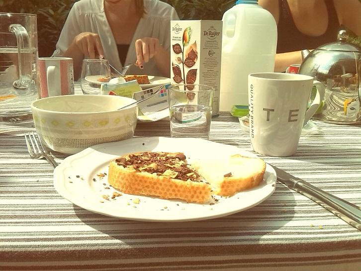 buiten ontbijten vrijdag