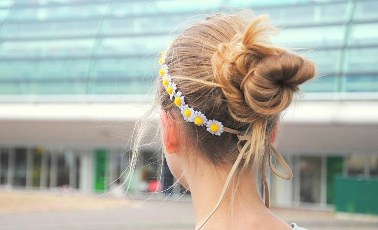 flower crown daisy