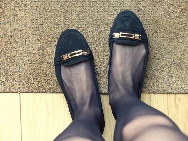 zwart suede loafers donderdag
