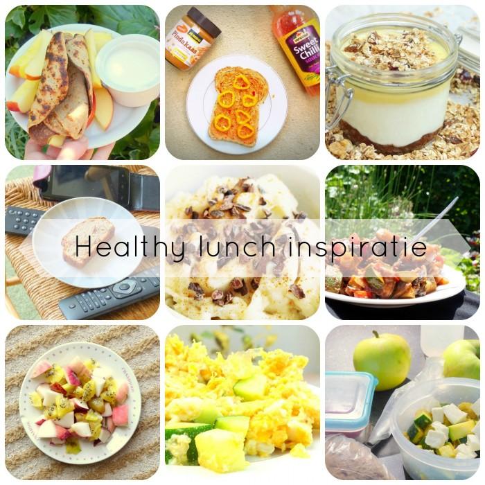 Lunch inspiratie tekst