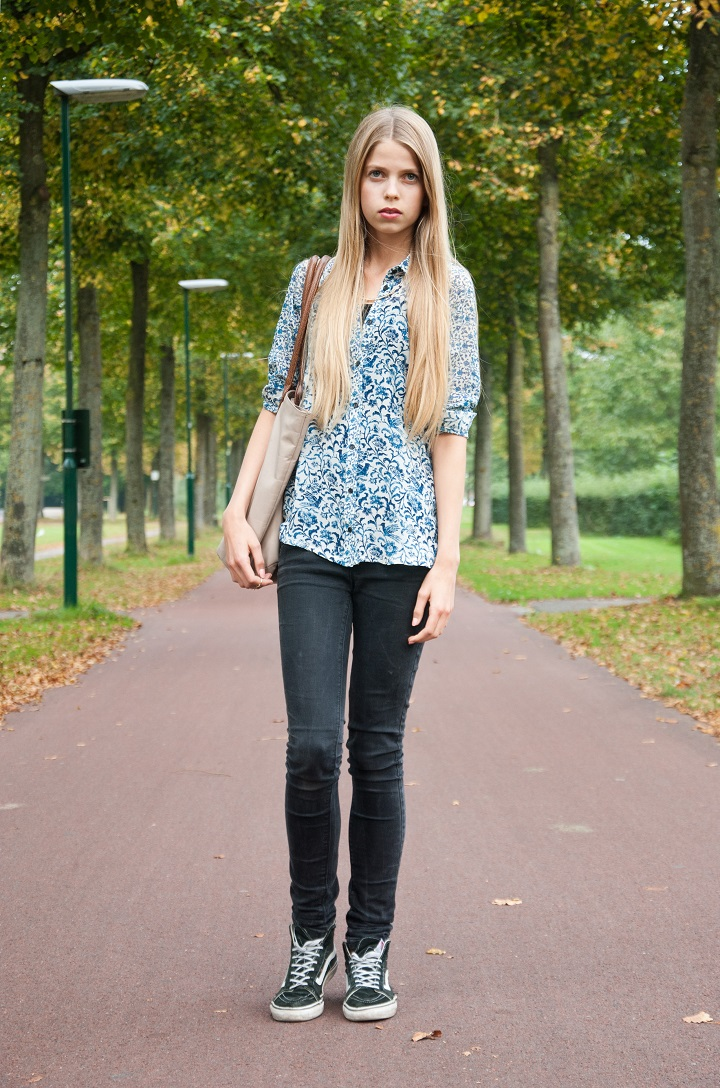 outfit granny blouse