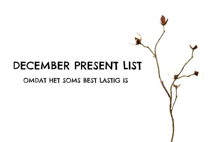 december cadeautips
