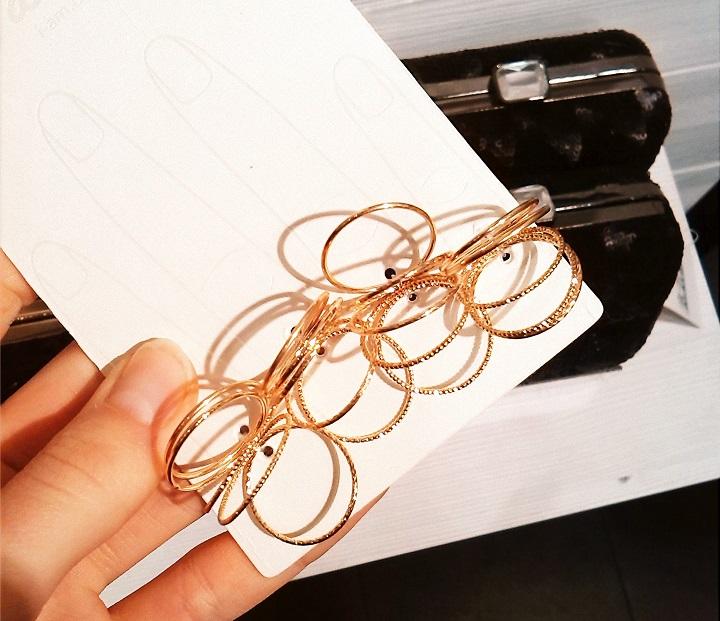 gouden ringetjes