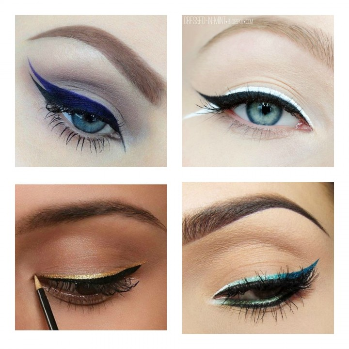 How to: Double Eyeliner Trend