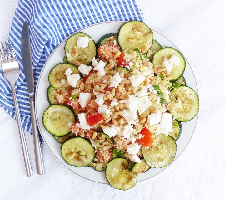 couscoussalade groente