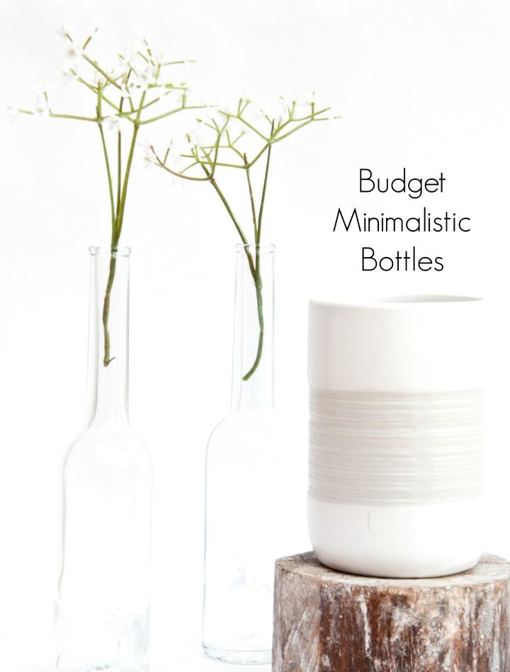 minimalistic bottles