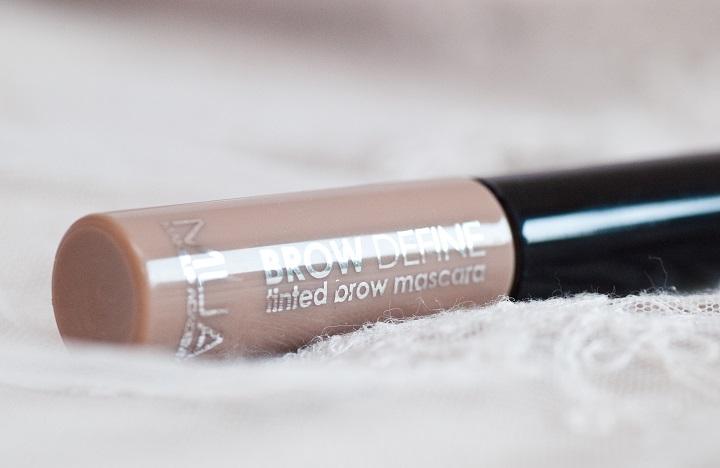 review mua tinted brow mascara
