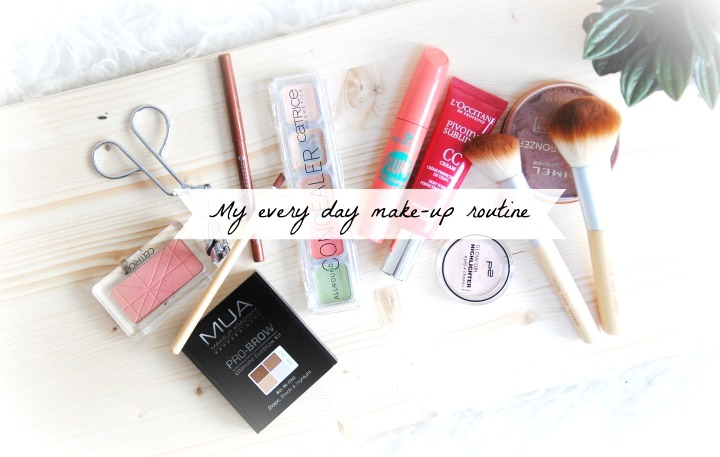 my every day make up routine