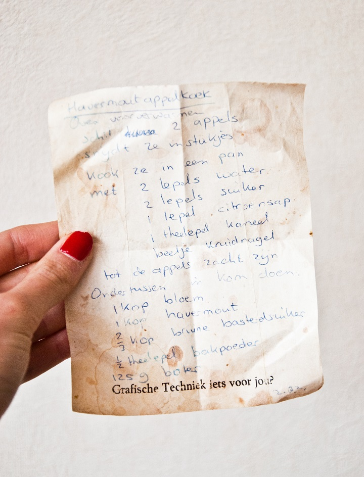oud recept