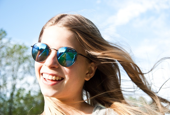 polaroid zonnebril