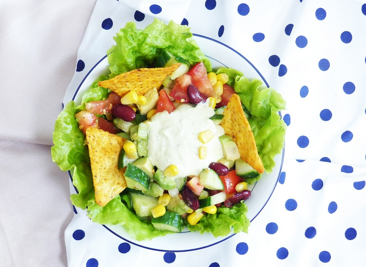 mexicaanse avocado salade