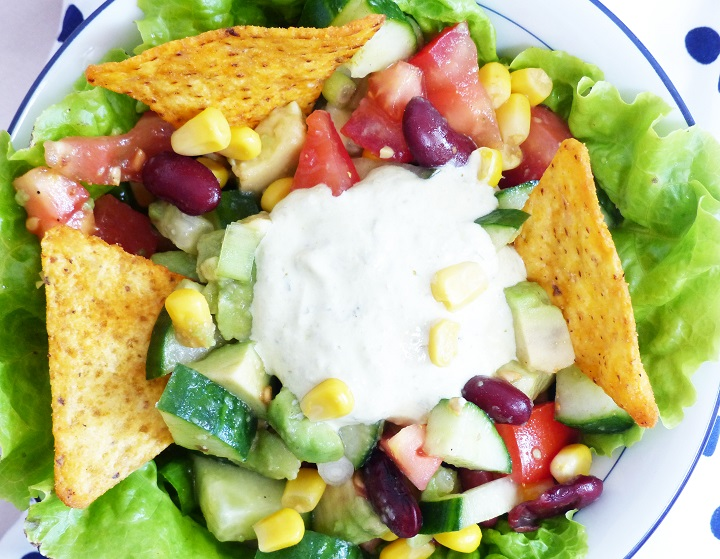 mexicaanse salade avocado
