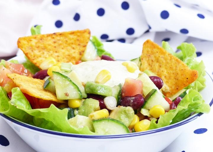 salade avocado nacho