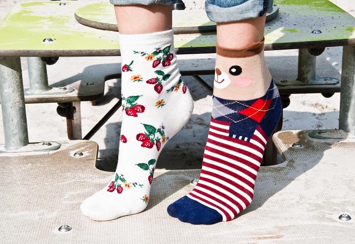 sokken met print