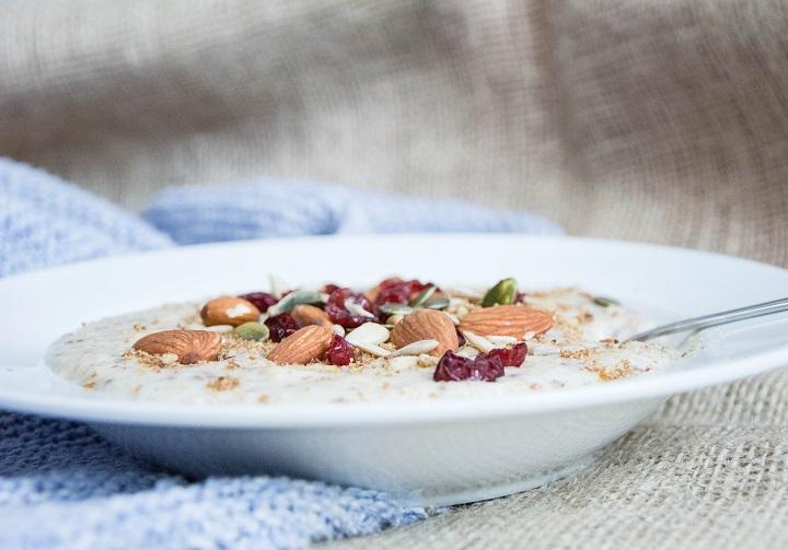 recept oatmeal bowl