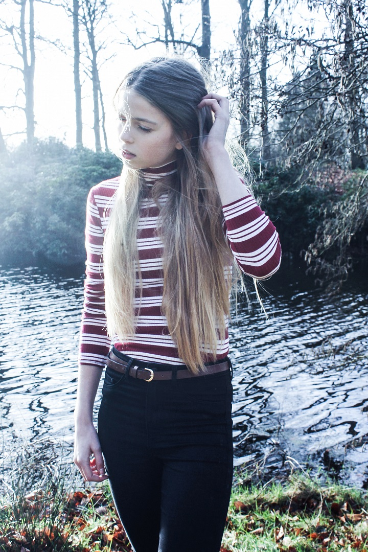cropped top outfit