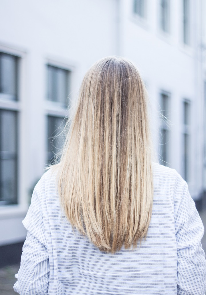 medium blond haar