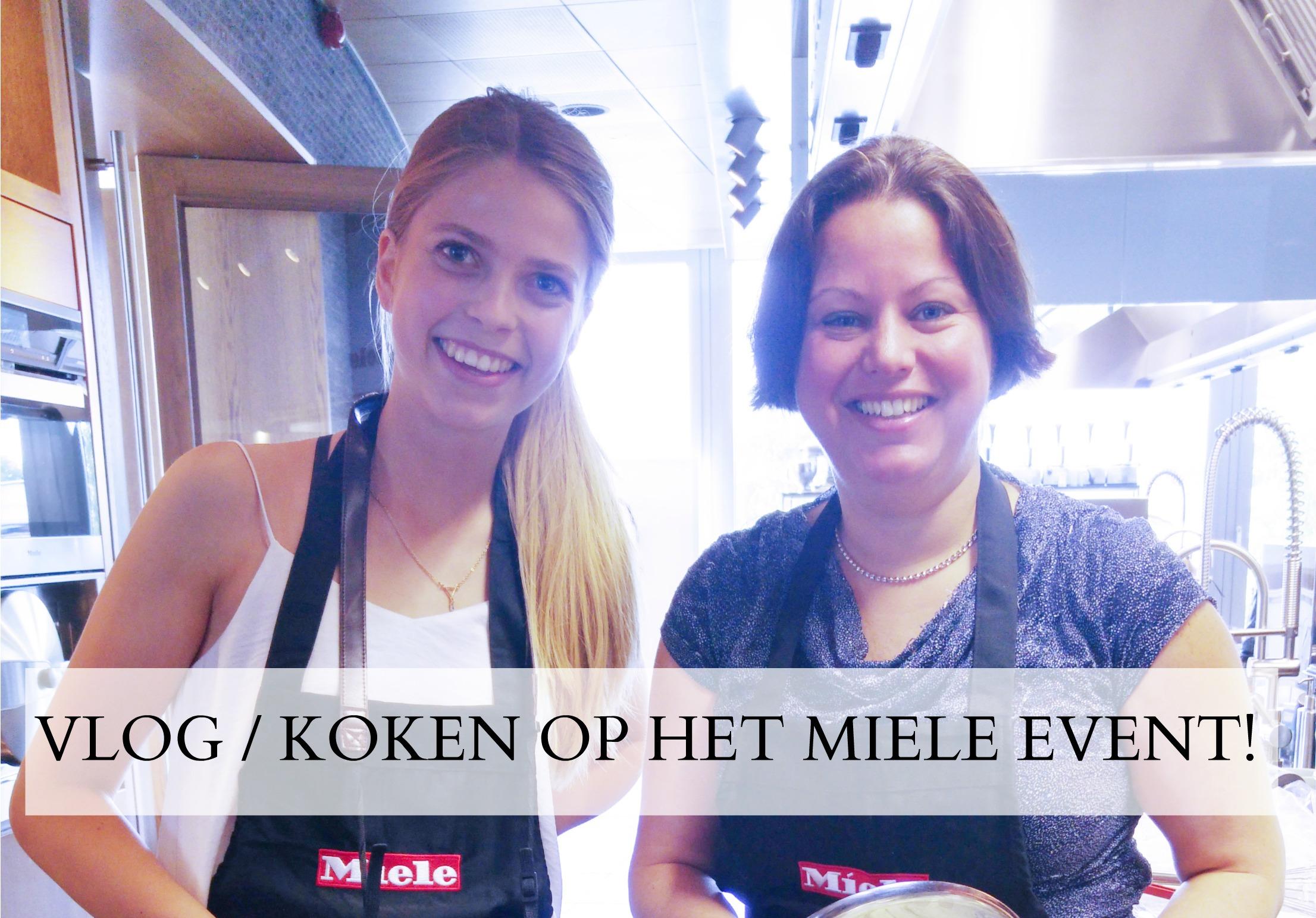 Keuken Inspiratie Evenement Miele : VLOG Koken op het Miele event! GlowofbeautyGlowofbeauty