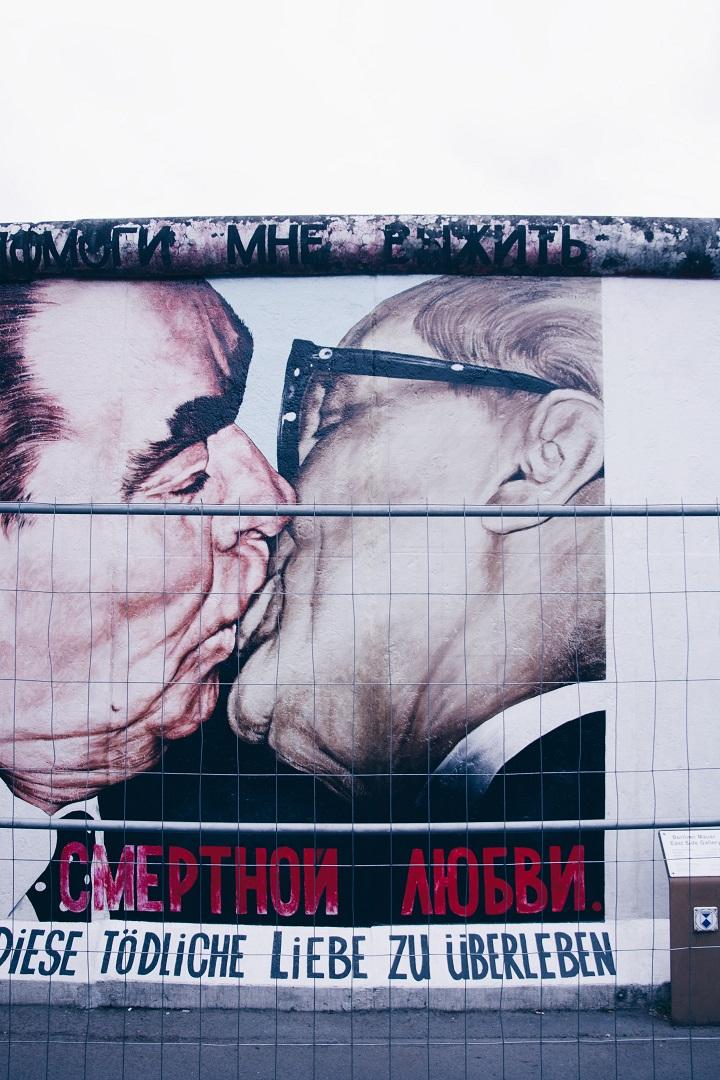 berlijnse muur graffiti