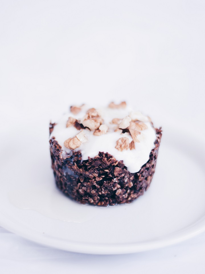 chocolade havermout muffin