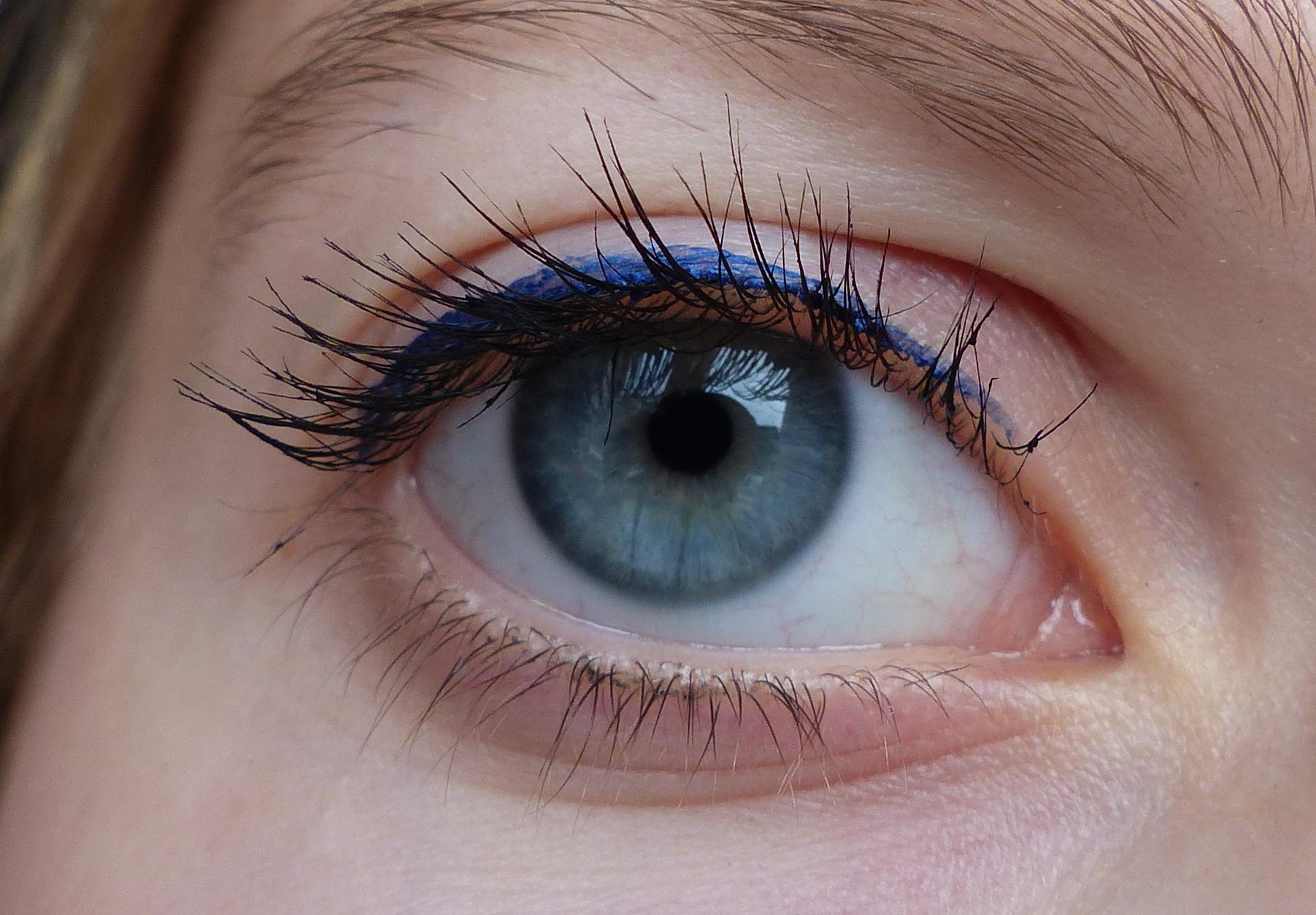 review hema donkerblauwe eyeliner