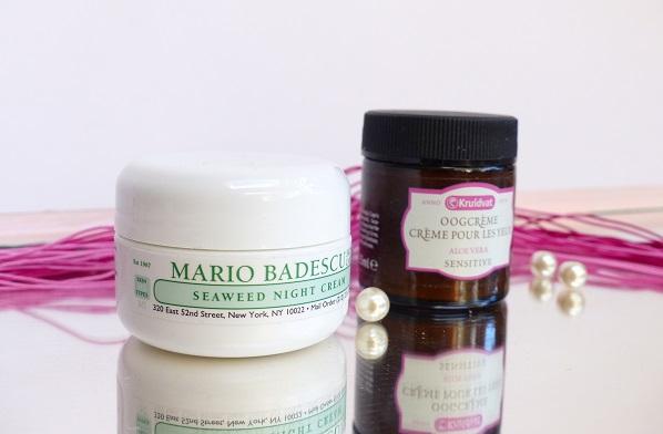 g Mario badescu seaweed night creme oogcreme kruidvat
