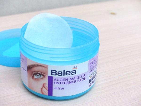 Balea augen make-up entferner pads