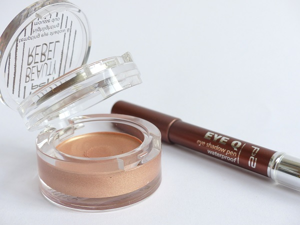 Review p2 mousse duo highlighting en eye shadow pen 030 warm earth