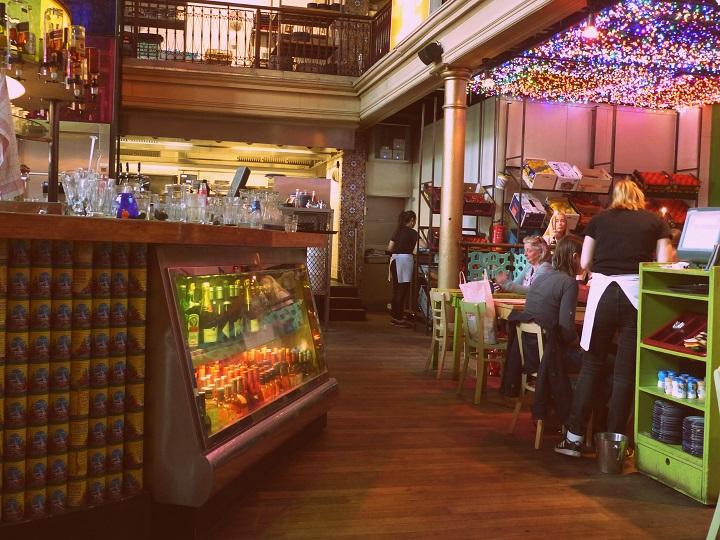 hotspots amsterdam restaurant