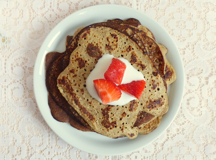 recept healthy pancakes