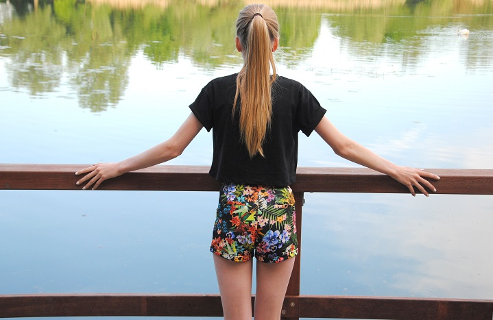 Outfit of the day floral short