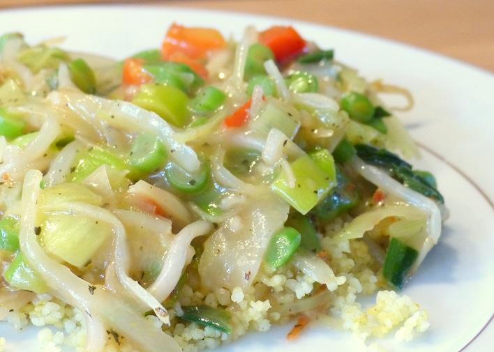 vrijdag couscous groente