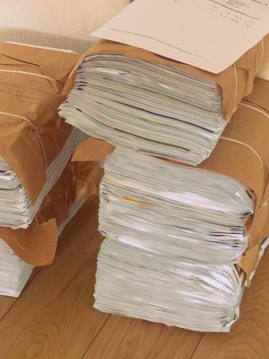 folders lopen vrijdag