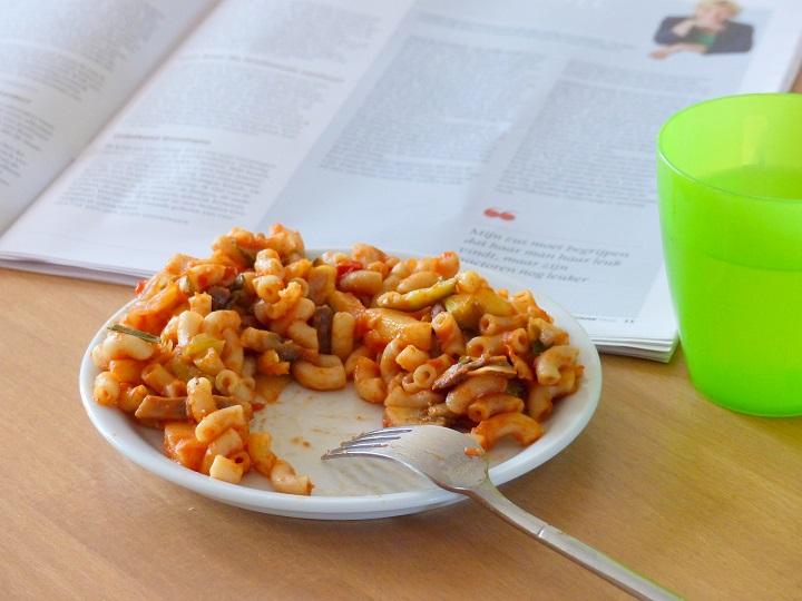lunch macaroni zaterdag