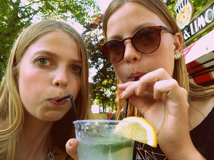 verse limoen limonade