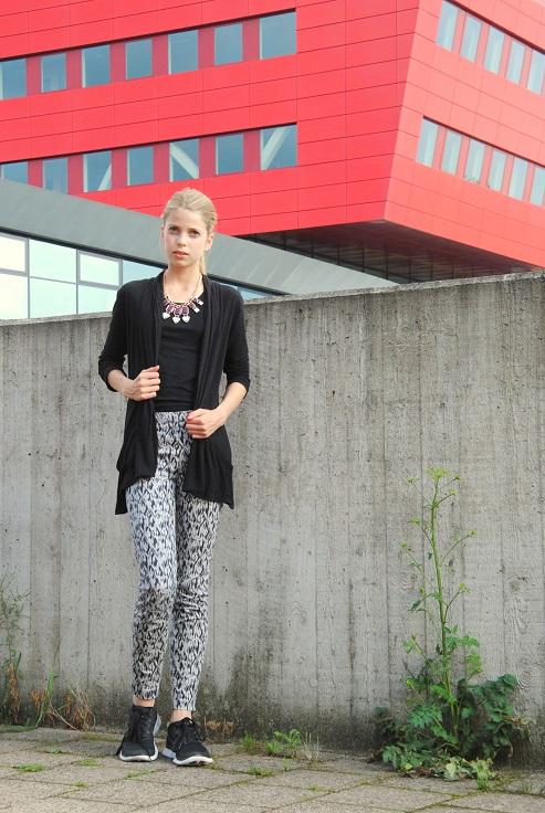 Outfit of the day broek met print