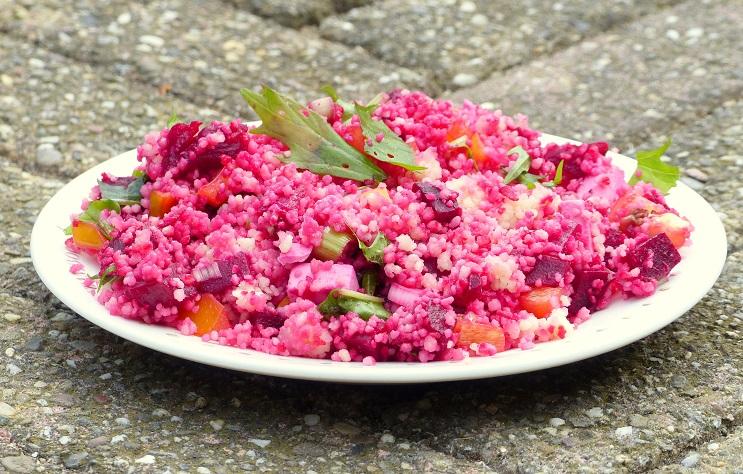 recept frisse couscous salade