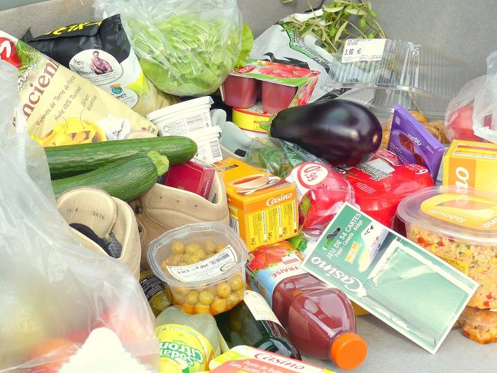 inkopen franse supermarkt
