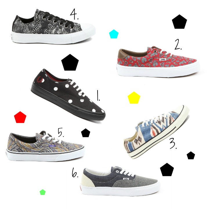 collage sneakers