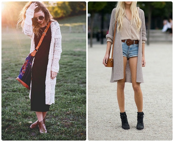 how to wear maxi cardigan