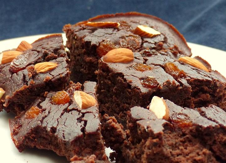 suikervrije vetvrije brownie
